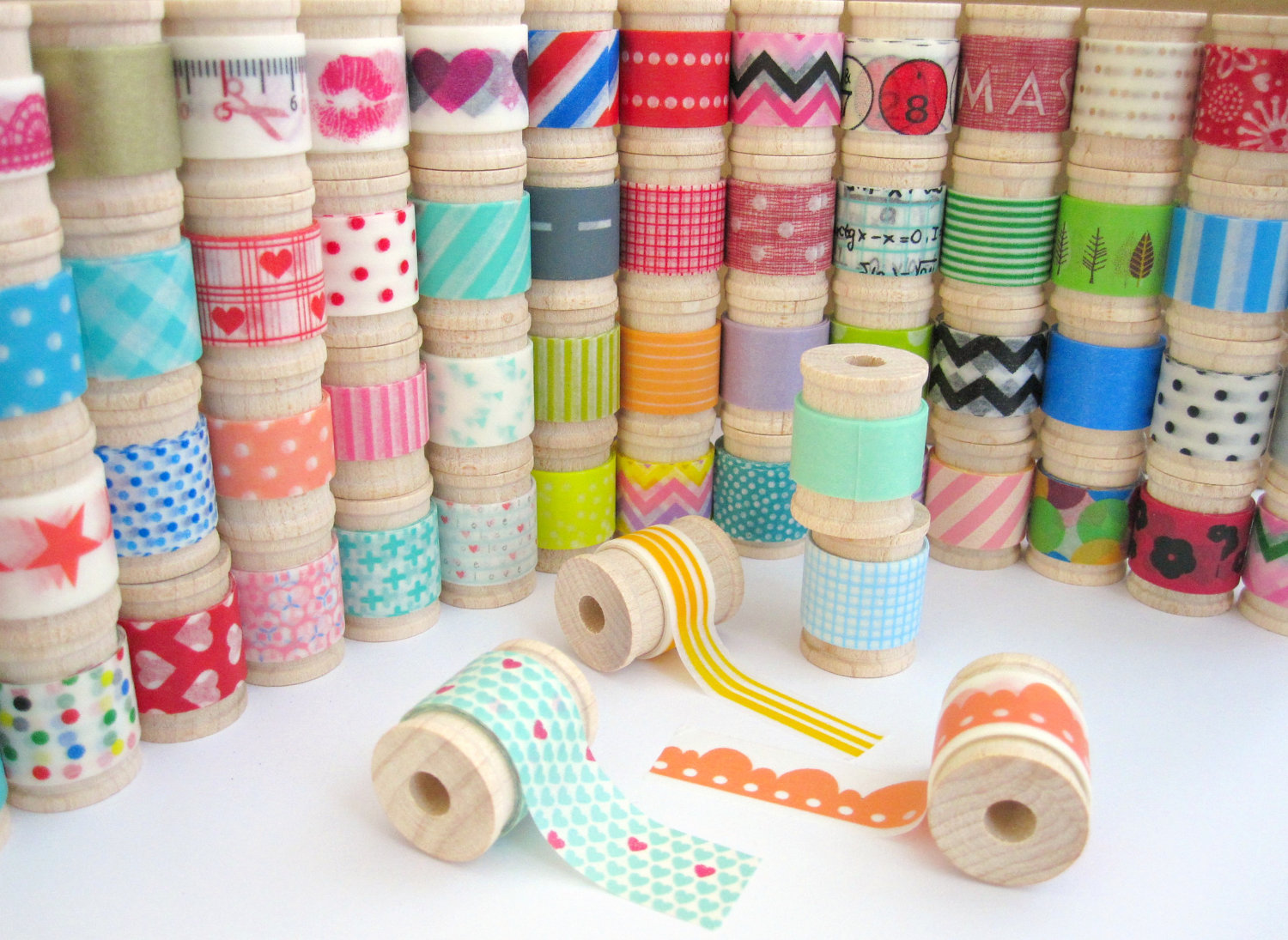 Washi Tape. Foto encontrada en Arqkoi