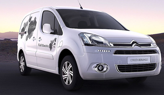 citroen berlingo electric cero emisiones