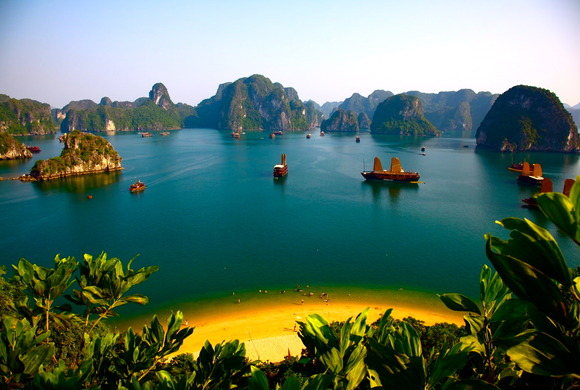 Bahía de Ha Long. Foto de Beauty Scenery